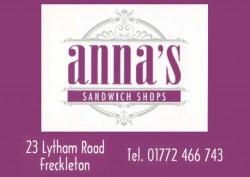 Anna's Sandwich Shop